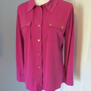Ellen Tracey soft and gorgeous blouse Size - M
